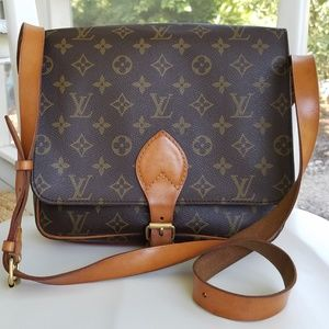 Louis Vuitton Cartouchiere GM Crossbody Monogram